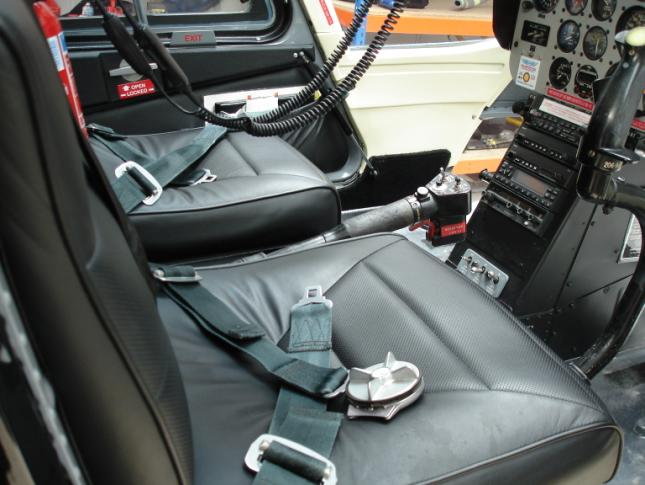 helicopter cockpit seats